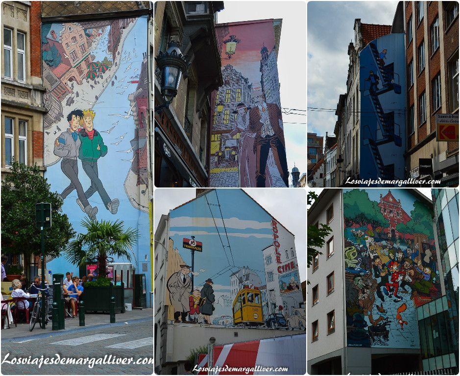 Ruta de los comics en Bruselas - Los viajes de Margalliver